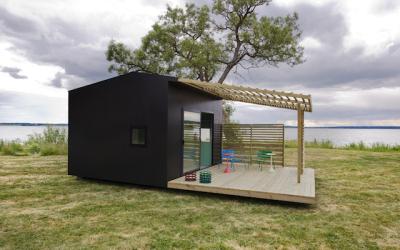 Švédská dřevěná chata