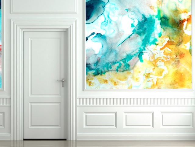 Akvarelové tapety